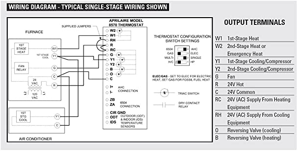 Digital Aprilaire 500 Wiring Schematic Wiring Diagrams – Digital Wiring Schematic