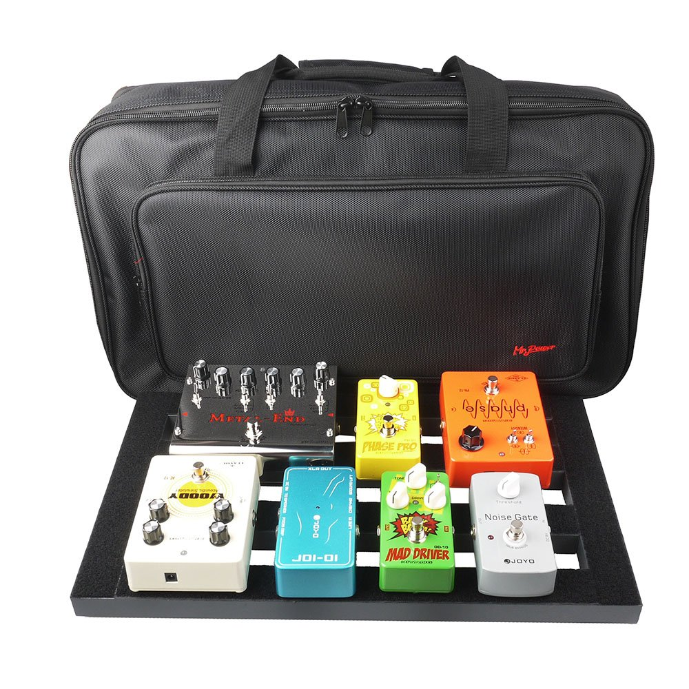 Mr.Power Pedalboard Made By Aluminium Alloy (18.5-in-withBag)