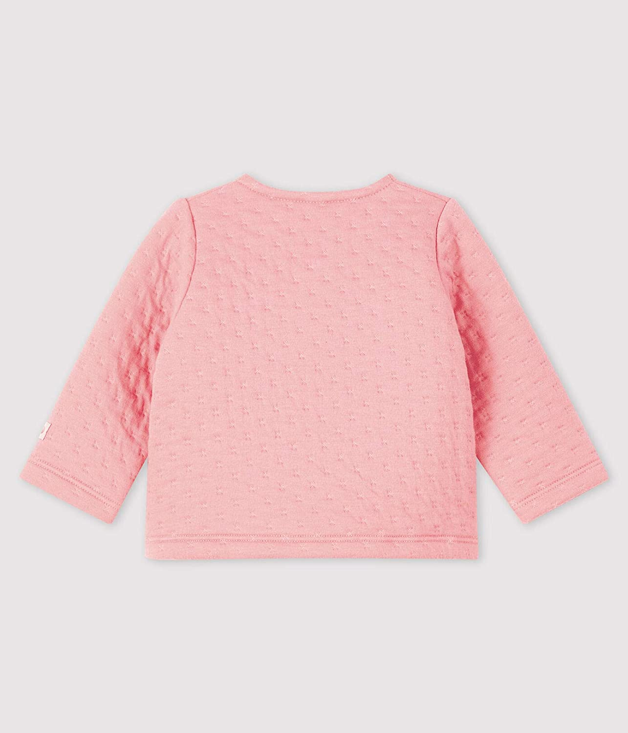 Petit Bateau Baby Quilted Crossover Cardigan