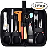 19Pcs Jewelry Making Tools Kit with Zipper Storage Case for Jewelry Crafting and Jewelry Repair by Paxcoo