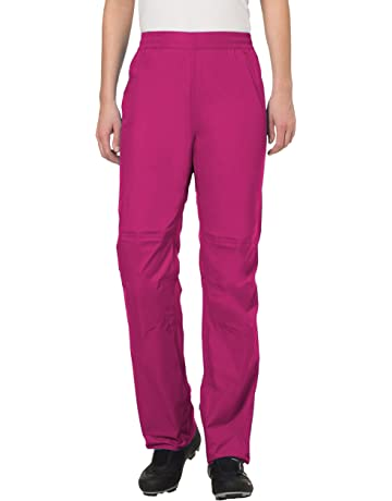VAUDE Drop II pantalon imperméable femme – pantalon de pluie coupe-vent et  thermo- 2bf5e6401a8