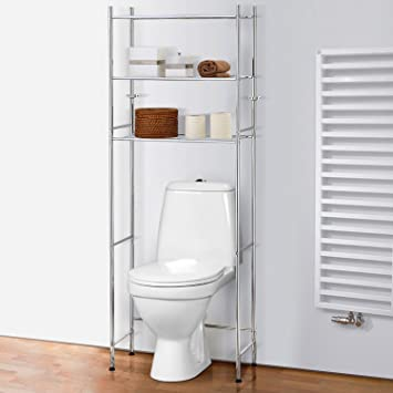 Tatkraft Roomy Over Toilet Storage Shelves Space Saver WC Bathroom    Shelving Unit over Washing Machine. Amazon com  Tatkraft Roomy Over Toilet Storage Shelves Space Saver