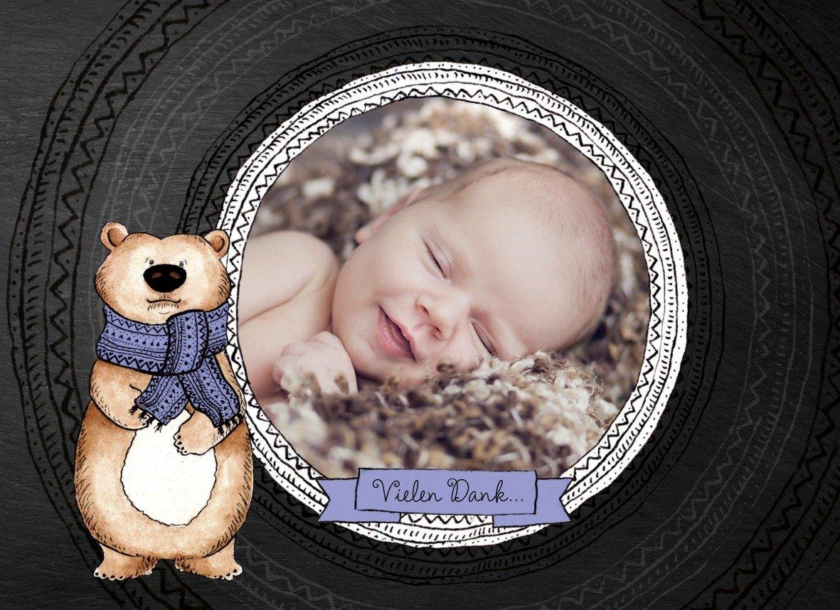 Kartenparadies Kartenparadies Kartenparadies Danksagung für Geburt Baby Dankeskarte Vintage Bär, hochwertige Danksagungskarte Baby inklusive Umschläge   100 Karten - (Format  148x105 mm) Farbe  MattBlau B01N28A4GT | Speichern  | Hochwertige Materialien  | Ideales Gesc 40d6e2