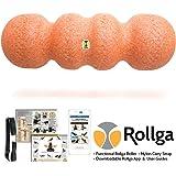 Functional Training Roller - Rollga Sunrise - Hard Contoured Foam Roller