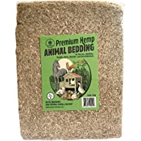 Happy Trees Premium Hemp Animal Bedding for Chicken Coop, Rabbits, Hamsters, Reptiles, Small Pets - Highly Absorbent…