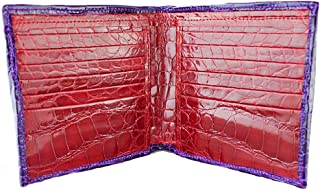 product image for Boulder - Purple and Red Alligator Wallet