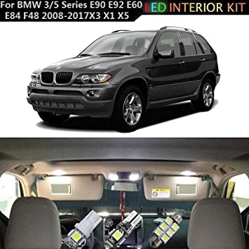 muchkey® LED luz interior para bmw 3/5 Series 318/320/320i