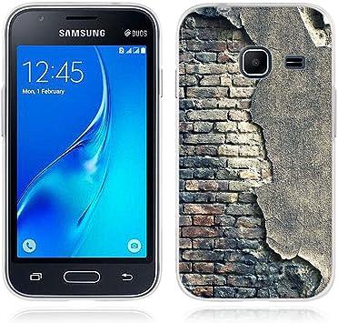 FUBAODA Funda para Samsung Galaxy J1 Mini Serie de Artística,Gel de Silicona TPU,Flexible,Funda Protectora Anti-Golpes para para Samsung Galaxy J1 Mini (J105): Amazon.es: Electrónica