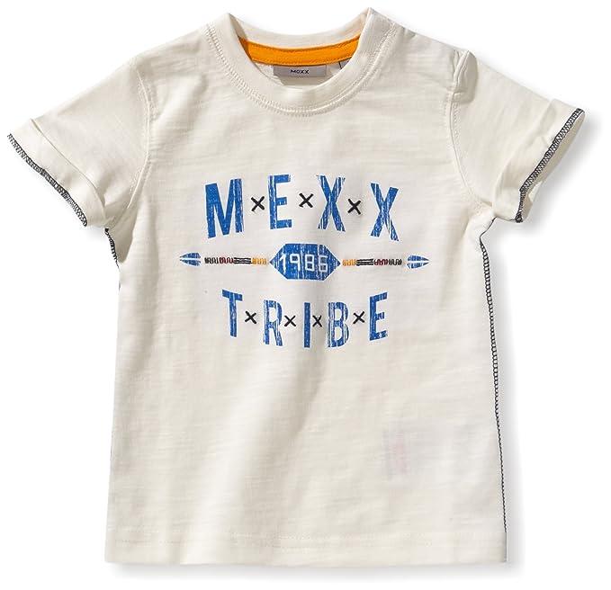 040a71ad1 Mexx Camisa con cuello redondo de manga corta para bebé