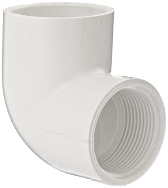 PVC 90-Degree Elbow Pipe Fitting 2-Inch