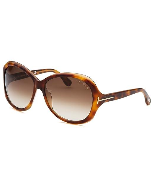 b7d393ef0da Tom Ford Cecile TF171 FT0171 56F Havana 58mm Sunglasses  Amazon.ca   Clothing   Accessories