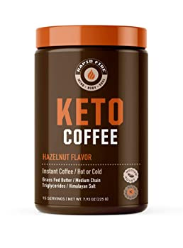 Rapid Fire Ketogenic Hazelnut Coffee