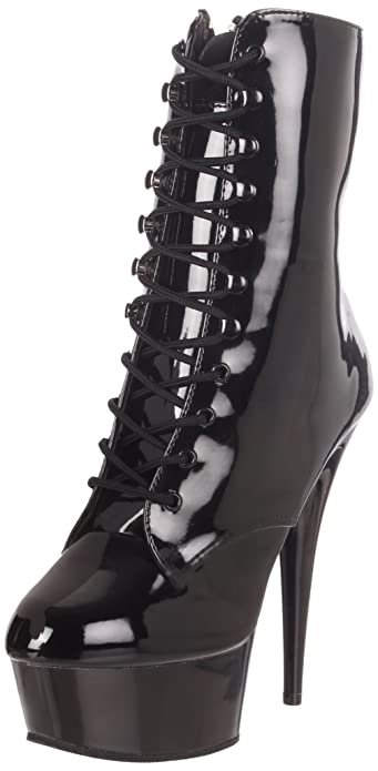 e26d3734a129 Women s 6 Inch Lace-Up Platform Ankle Boot