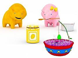 Aprende los colores en un baño de espuma y comiendo ricas marmeladas con Dino y Dina los Dinosaurios. Dino es un curioso pequeño dinosaurio que siempre ...