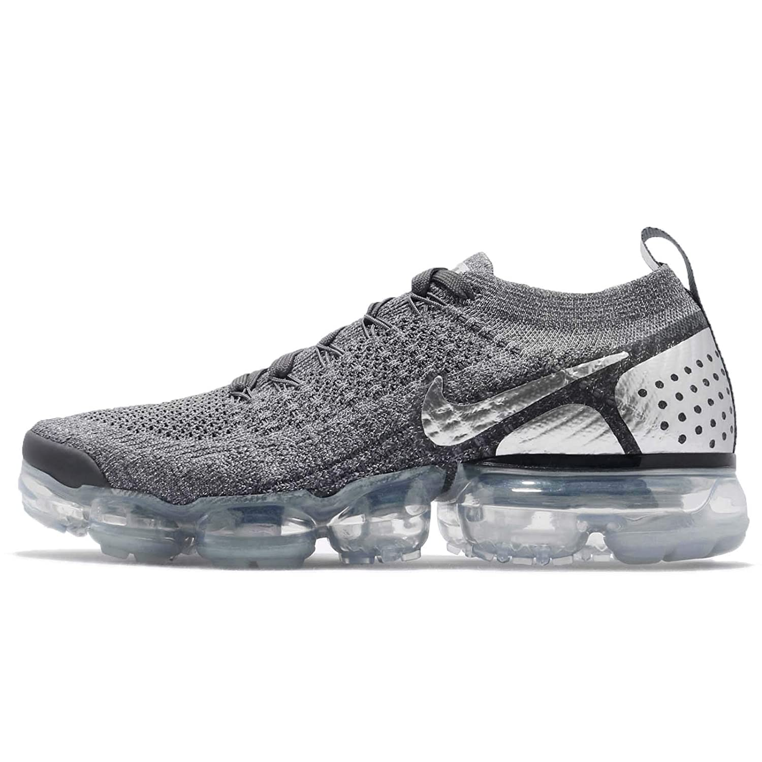 new product e4bf6 cfc42 Amazon.com | NIKE Men's Air Vapormax Flyknit 2, Dark Grey/Chrome-Dark  Grey-Cool Grey, 9 M US | Shoes