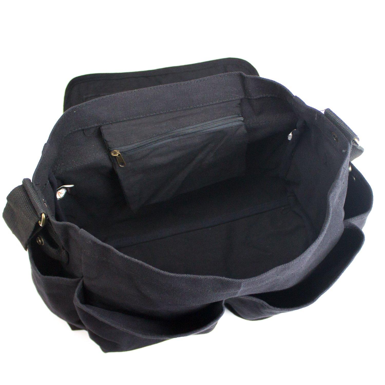 Iron Man Heart Heavyweight Canvas Messenger Shoulder Bag