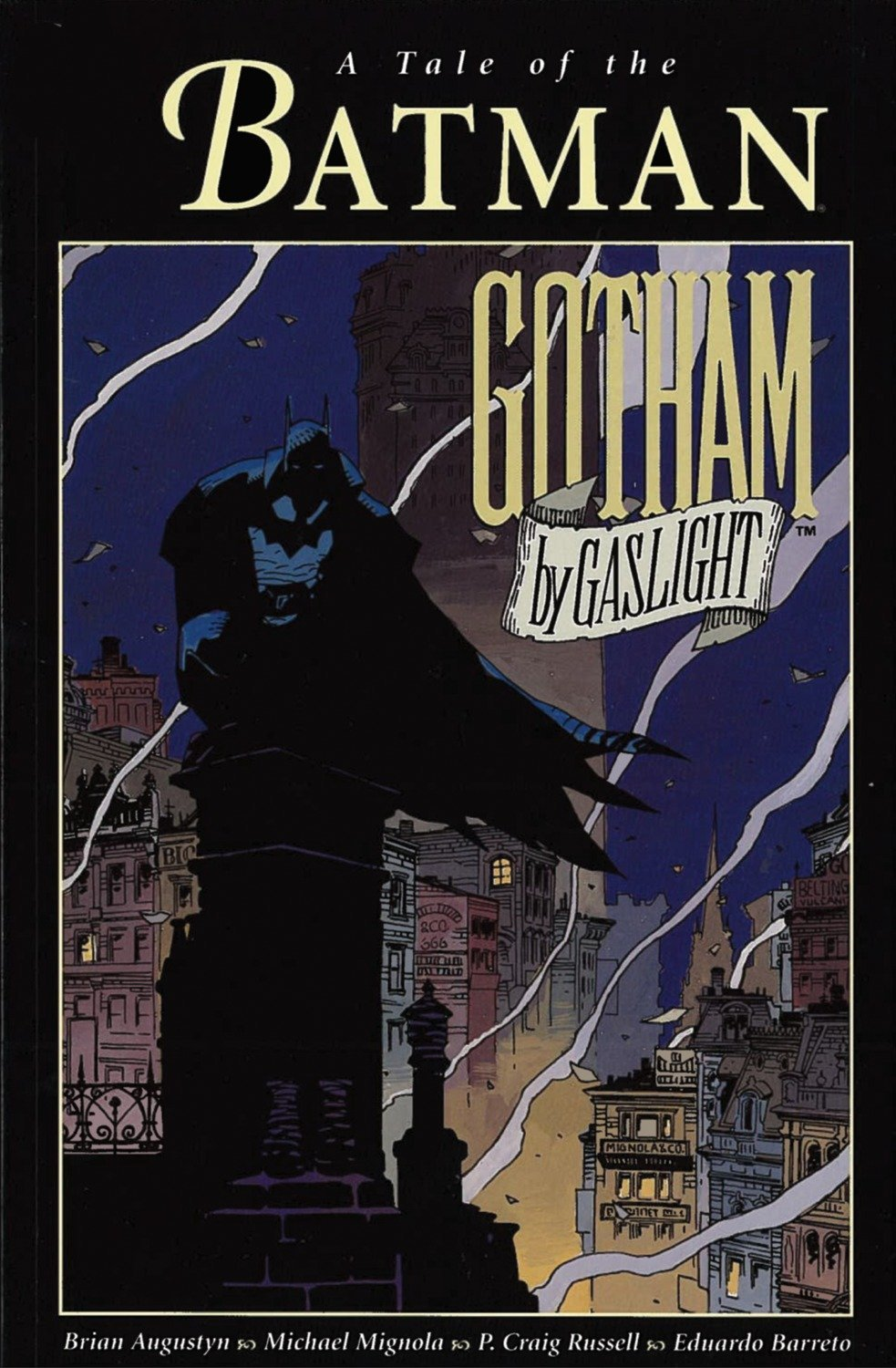 Gotham Book Light