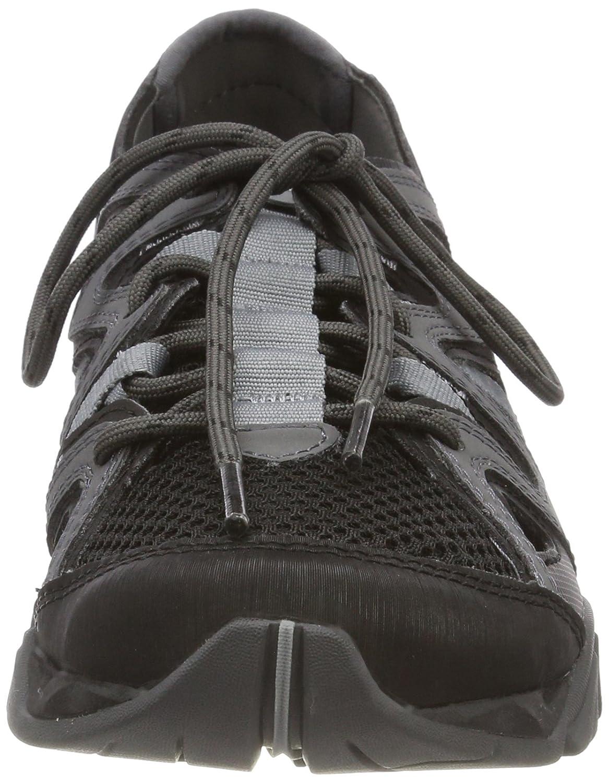 Merrell Women's Tetrex Crest Wrap Sport Sandal B072LPN7XL 9.5 B(M) US|Black