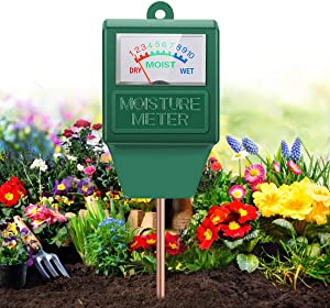 Moisture Meter, Gardening Tool Kit for Plants Care, No Battery Required Suitable for Indoor & Outdoor, Potted Plants, Gardens, Lawn, Farms, Moisture Meter, Garden Tools, Soil Moisture Meter