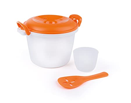 Excelsa Quick Cook Arrocera Microondas, Polipropileno ...