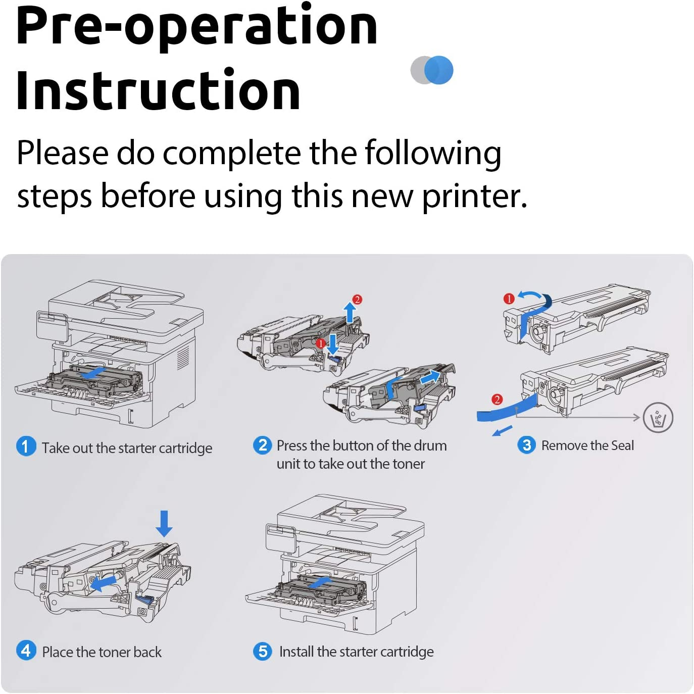 Pantum M7102DN Monochrome Laser Printer Multifuntion Printer with Copier Scanner Automatic Duplex Printing Connect with Network and USB 2.0: Electronics