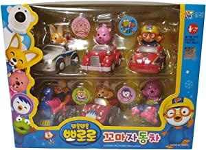 Brand new Pororo & Friends Kid Car Set (6pcs) by Pororo