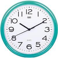 Trevi OM 3301 Orologio da Muro al Quarzo con Movimento Silenzioso Sweep, Diametro 24 cm