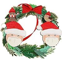 Gepersonaliseerde naam kerstversiering kit, kerstboomhangers, houten schijven, kerstboomlabels, houten verspreide…