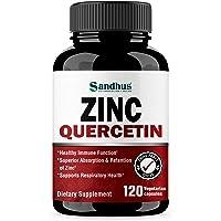 Zinc Quercetin 120 Vegetarian Capsules