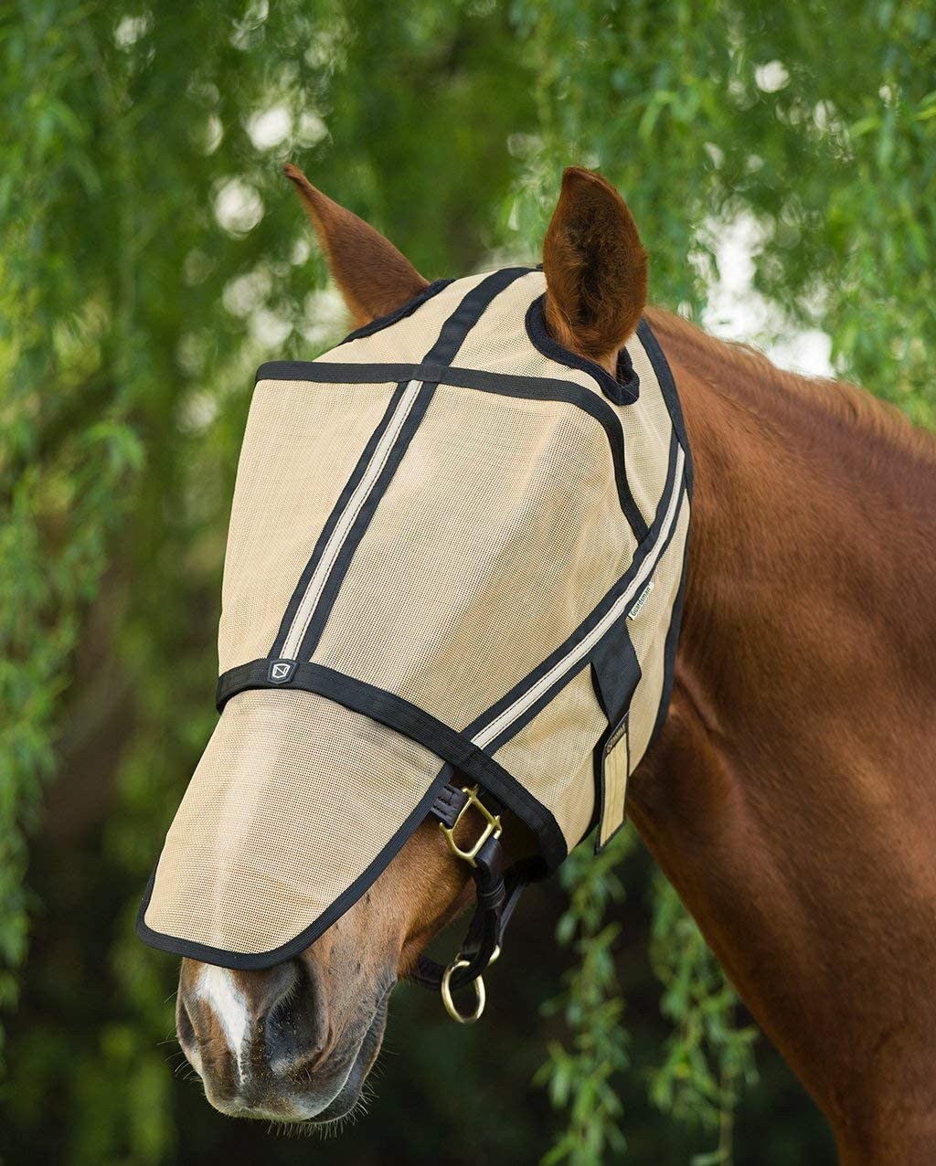 Noble Outfitters Guardsman Flymask GOLD