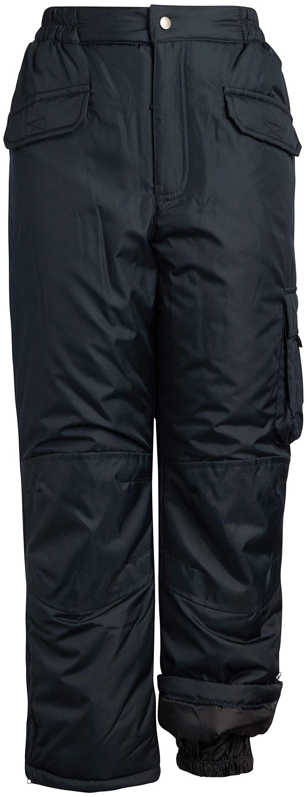 Cherokee Boys & Girls Insulated Ski Snow Pants, Size 8/10, Black' by Cherokee