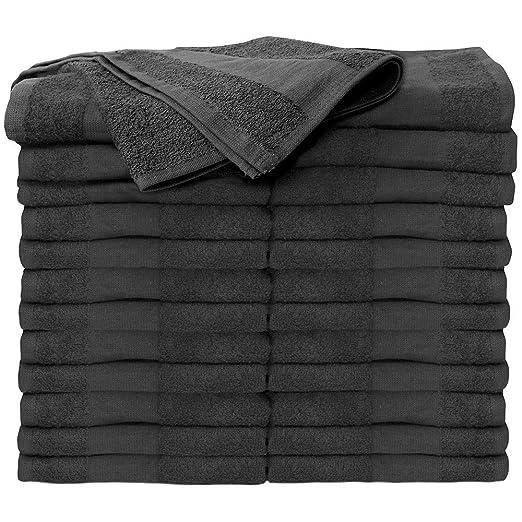 Amazon.com : ForPro Premium Bleach Tough Salon Towels, Cool Grey, 100% Cotton, Bleach-Proof, Stain Resistant, 16
