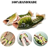 Fish Animal Slippers Summer Beach Sandals Shower Slippers Non-slip Beach Shoes Wear for Women Men Casual Shoe