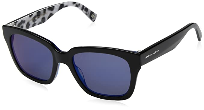 Amazon.com: Marc Jacobs Womens Marc229s Square Sunglasses ...