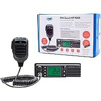 Radio CB PNI Escort HP 9500 multiestandar, ASQ, VOX, Scan, 4W, Am-FM, Fuente de alimentación de 12V / 24V, Enchufe más…