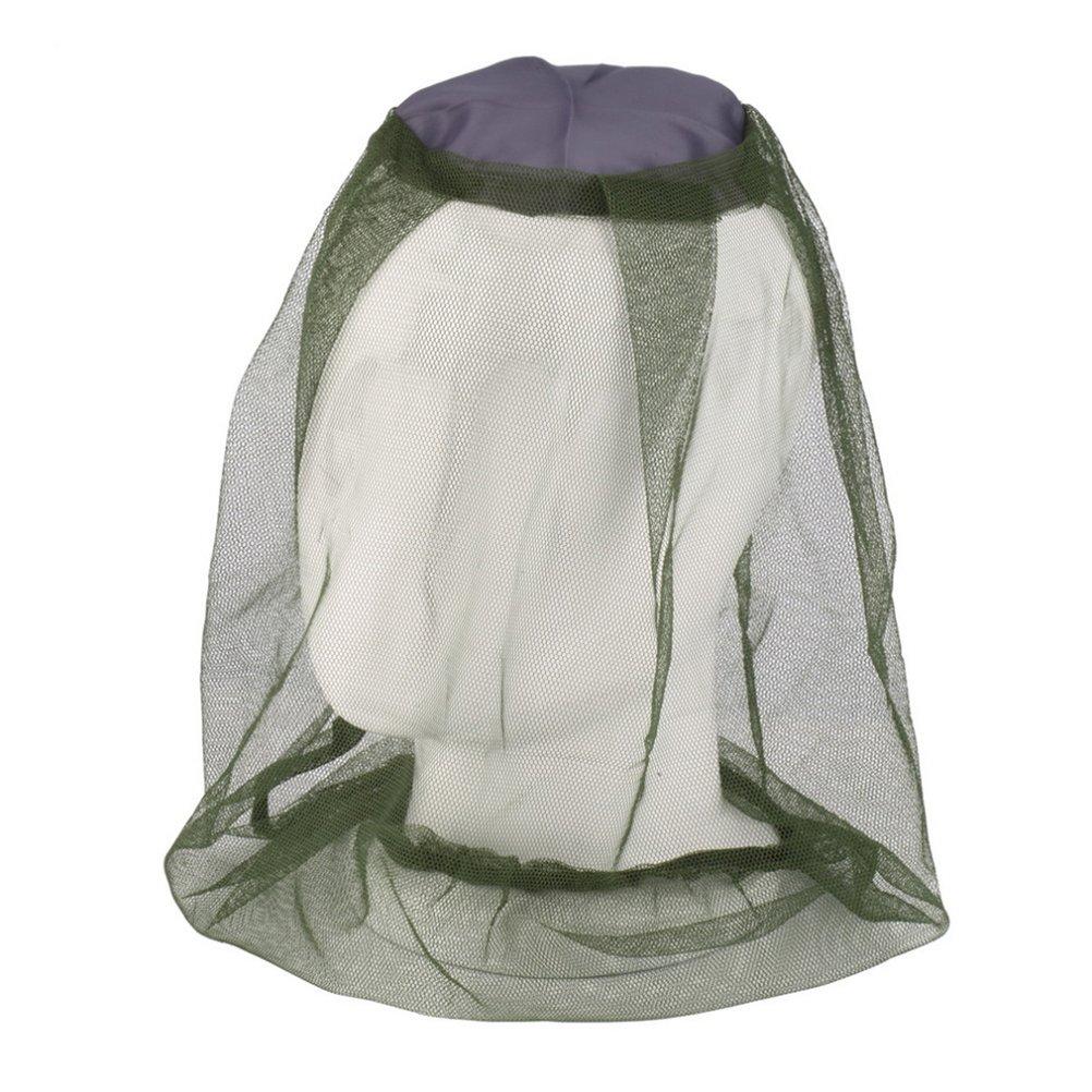 WINOMO 4 St/ück Moskito Kopf Net Gesicht Hals Schutznetz Moskito Insektenschutzmittel Anti-Biss Netz f/ür Outdoor Angeln