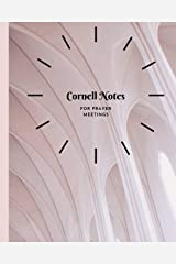 Cornell Notes: for Prayer Meetings Paperback