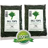 Dill Weed Tops - 200g Dried Herb / Herbal Tea