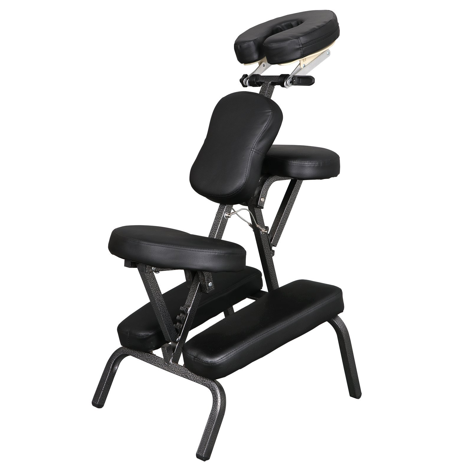Portable Light Weight Massage Chair Leather Pad Travel Massage Tattoo Spa Chair w/Carrying Bag