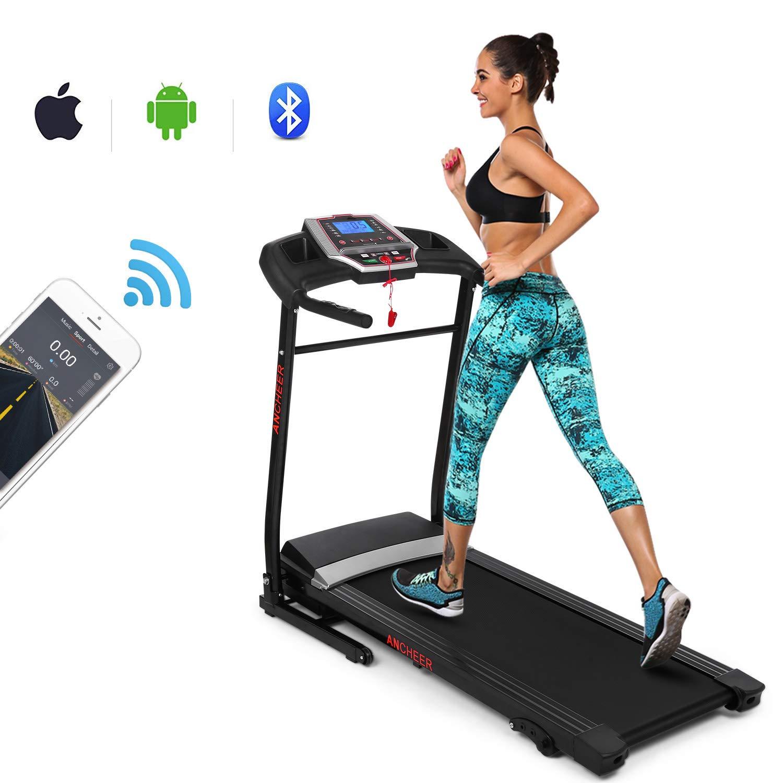 ANCHEER App Control Electric Treadmill
