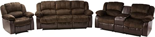 NHI Express Aiden Motion Sofa Set 1 Pack , Peat