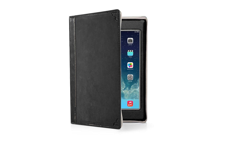 twelve south bookbook housse en cuir livre ancien pour ipad mini noir ebay. Black Bedroom Furniture Sets. Home Design Ideas