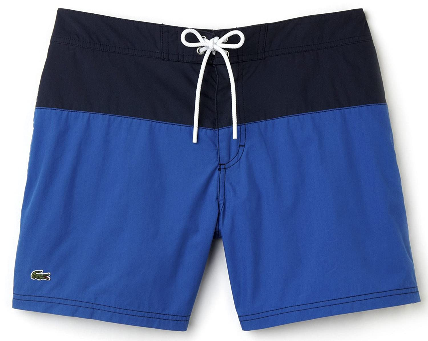 412b78edb7ac3 Details about NWT Lacoste Mens Colorblock Taffeta Board Shorts/Swim Trunks,  MH7093, sizes vary