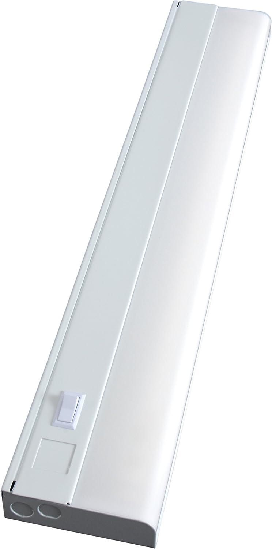 ge advantage fluorescent light fixture 24 inch 16690 ebay. Black Bedroom Furniture Sets. Home Design Ideas