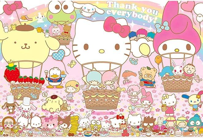 VAST Rompecabezas for la niña Regalo Juego de los Juguetes, clásico Animado Hello Kitty Dibujos Animados, Inteligencia Rompecabezas Fit 300 ~ 1000 Piezas 513 (Color : B , Size : 300pc) : Amazon.es: Juguetes y juegos