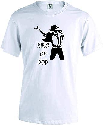 Camiseta Michael Jackson The King of Pop: Amazon.es: Ropa y accesorios