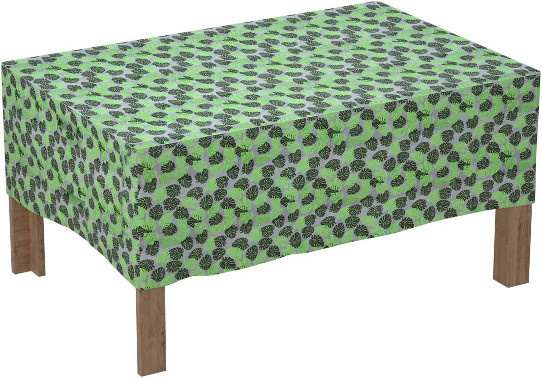 "FLYDOO Table Cover Outdoor Patio Furniture Covers Waterproof Patio Furniture Set Covers-Rectangle,90""x60""x27.5"""