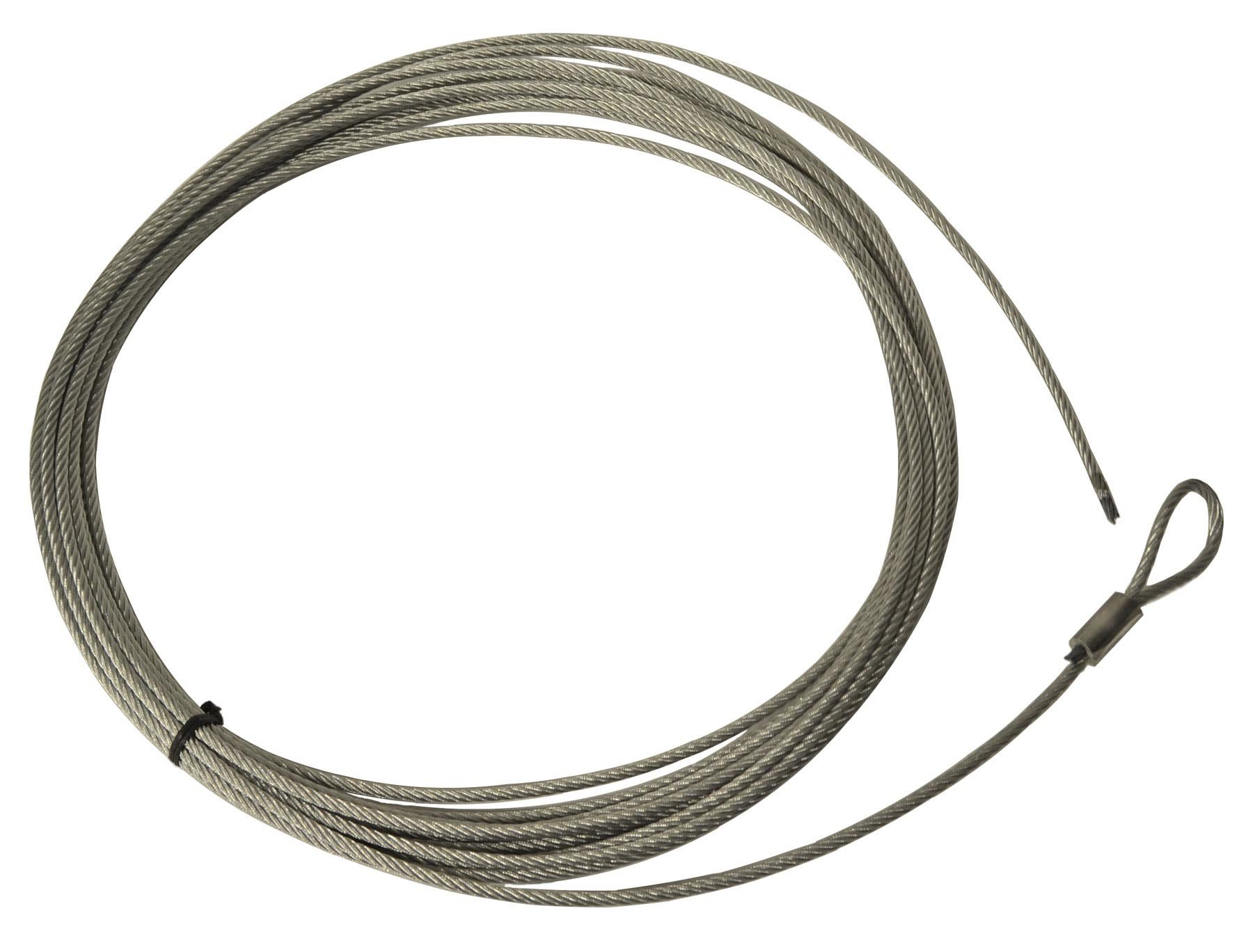 Warn 82654 Wire Rope Assembly for 1000AC Winches