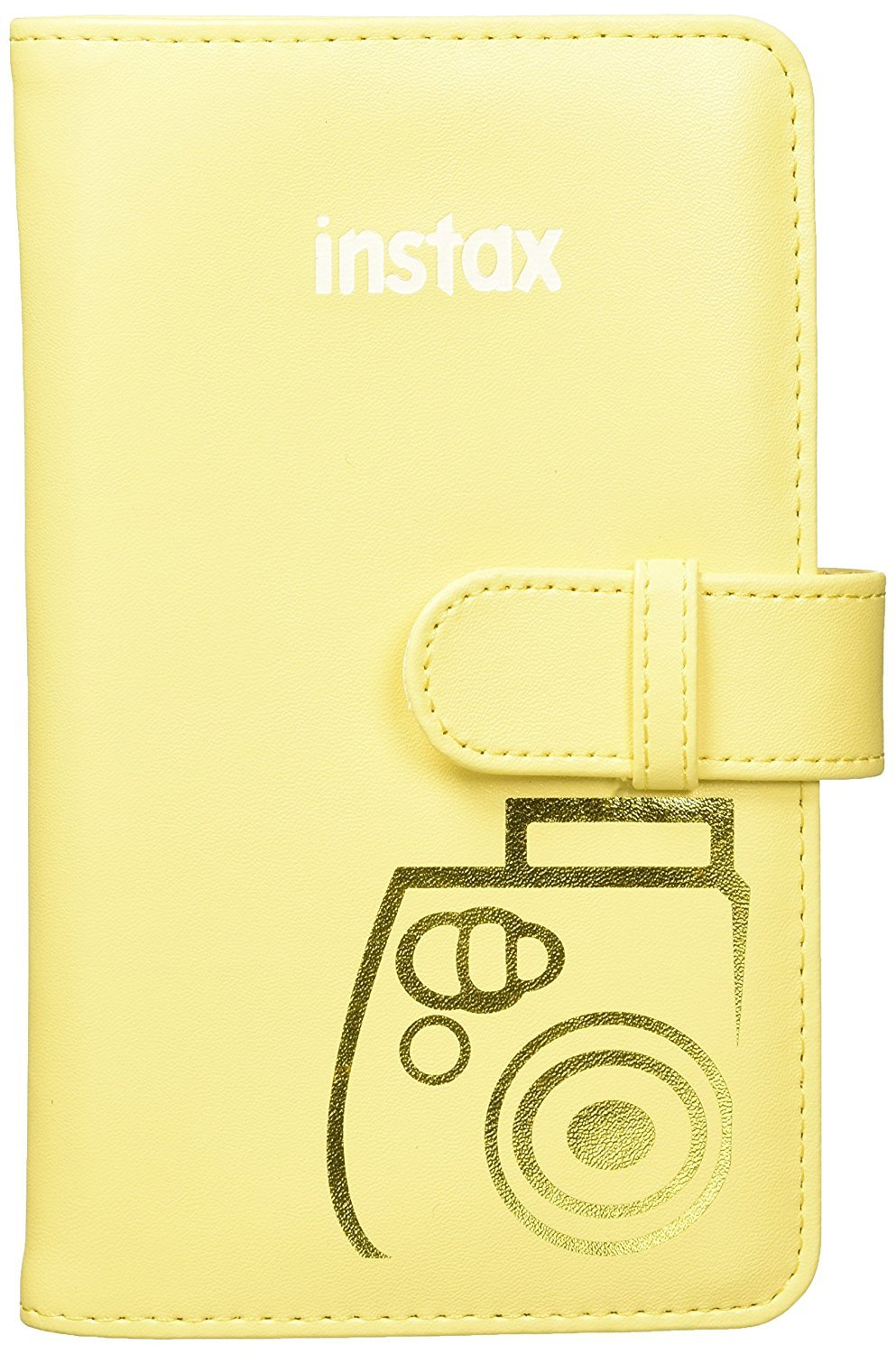 Fujifilm Instax Mini 9 (Yellow with Clear Accents), 3X Instax Film (60 Sheets), Groovy Case, Accordion Album and Hanging Pegs by Fujifilm (Image #4)