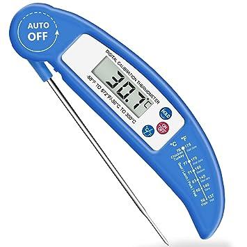 Digital LCD Kueche Einstichthermometer digital Ofenthermometer Lebensmittel